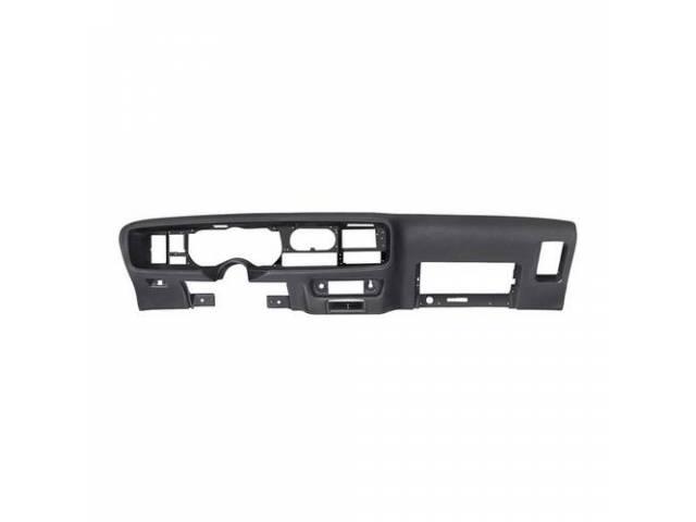 Pad Dash / Instrument Panel Black Repro Original