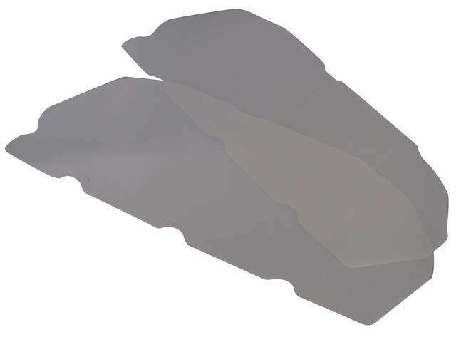 WATERSHIELD SET, Interior Door Panel, mylar (best protection),