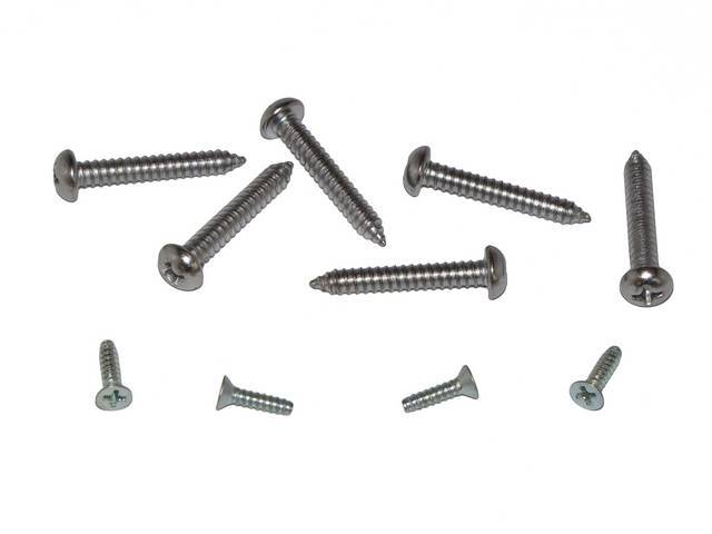 FASTENER KIT, Arm Rest Base and Pad, Front