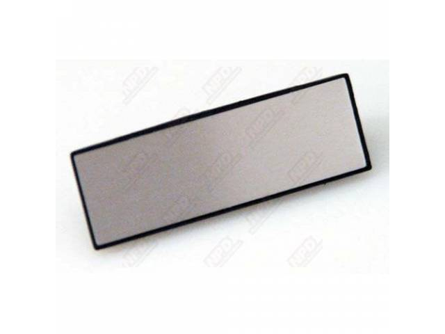 COVER PLATE, DOOR PULL STRAP, PLASTIC W/ BRUSHED