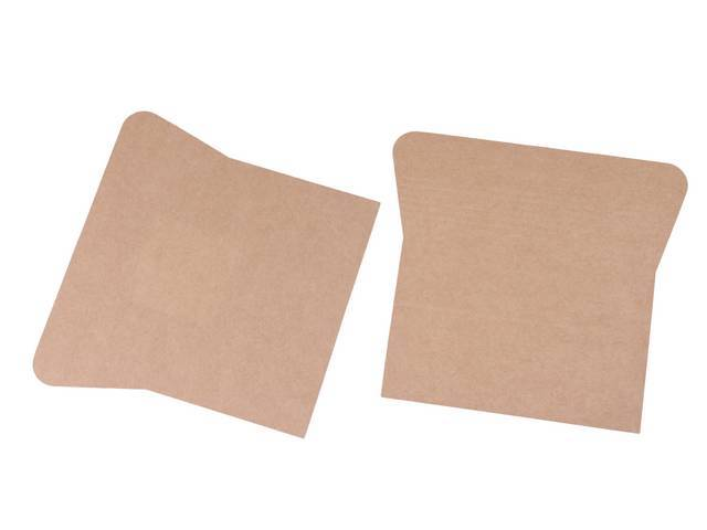SHIELD, Bottom Seat Spring, perforated cardboard, (2), installs