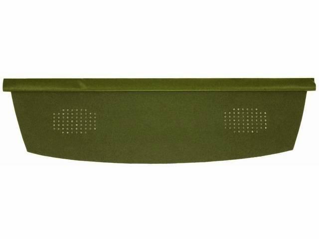 TRAY / TRIM, Package / Rear Shelf, Dlx
