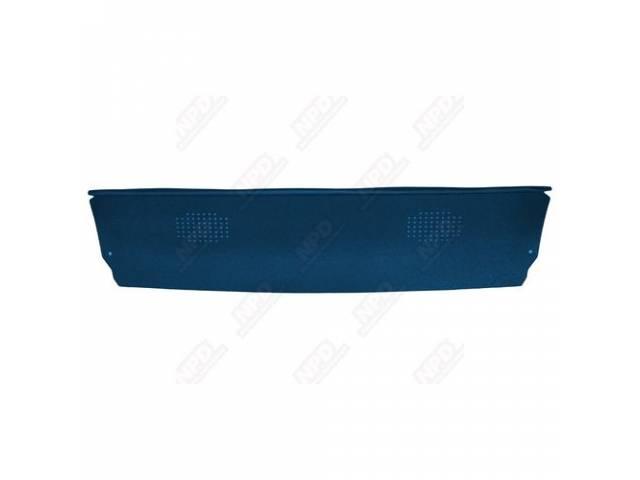 Tray / Trim Package / Rear Shelf Dlx