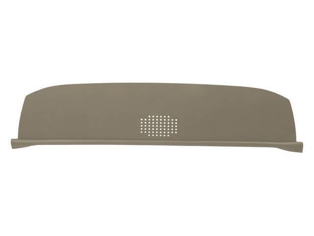 Package Tray / Rear Shelf, Mesh, Sandalwood, 1 speaker design (center)