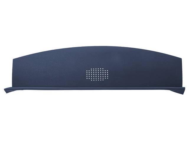 Package Tray / Rear Shelf, Mesh, Dark Blue, 1 speaker design (center)
