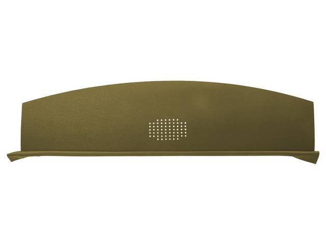 Package Tray / Rear Shelf, Mesh, Gold, 1 speaker design (center)
