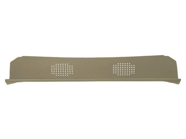 Package Tray / Rear Shelf, Mesh, Sandalwood, 2 speaker design
