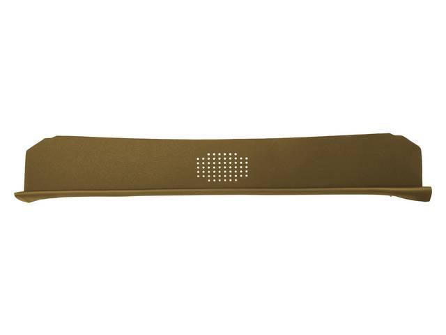Package Tray / Rear Shelf, Mesh, Saddle, 1 speaker design (center)