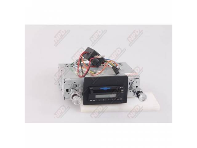 Radio Am/Fm Cassette 200 Watt Black Faceplate Will