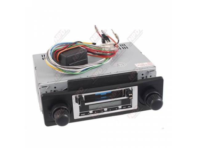 Radio Am/Fm Cassette 200 Watt Chrome Faceplate Will