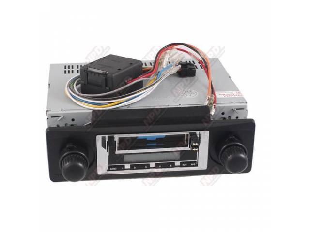 Radio Am/Fm Cassette 200 Watt Chrome Faceplate Will