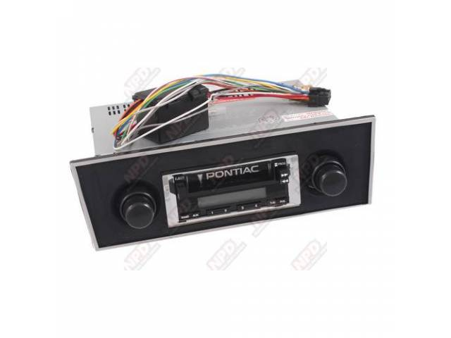 Radio Am/Fm Cassette 100 Watt Black Faceplate Will