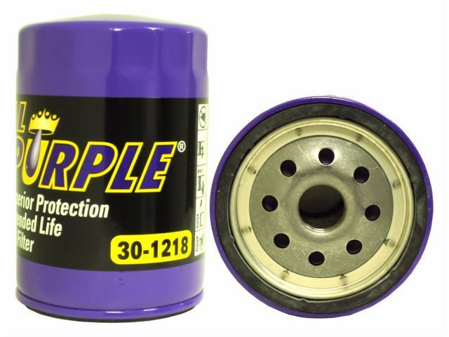 FILTER, Oil, Royal Purple, extended life, high flow,