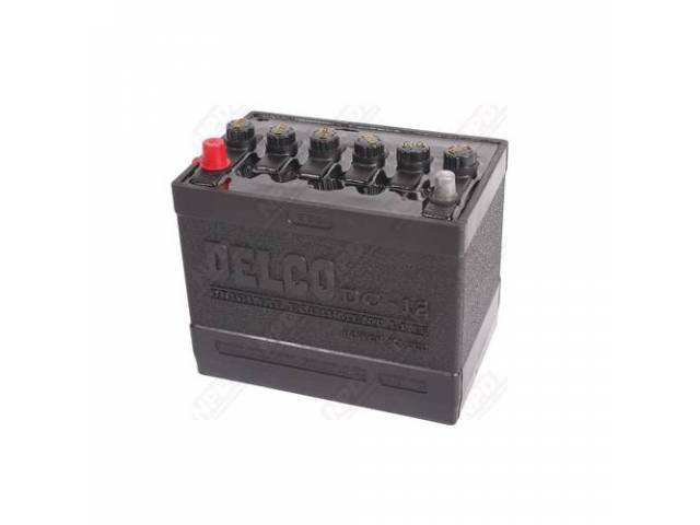 Battery 12 V Dc-12 Delco Tar Top W/O