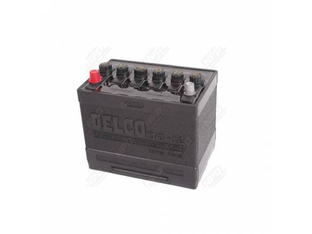 Battery 12 V Dc-12 Delco Tar Top W/