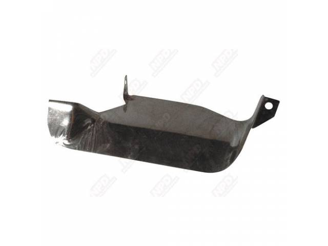 Heat Shield Starter Stainless Steel Correct Repro