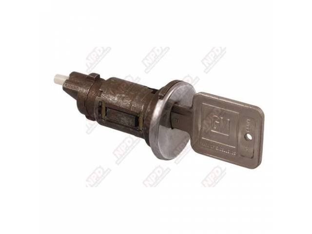 Cyl And Keys Ignition Switch W/ Later Style