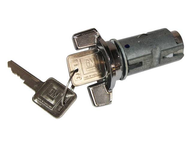 Cyl And Keys, Ignition Switch, W/ Later Style Square Gm Key, AC Delco