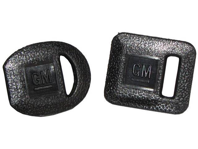 Boot Set Gm Keys 1969-Up Style Black Slips