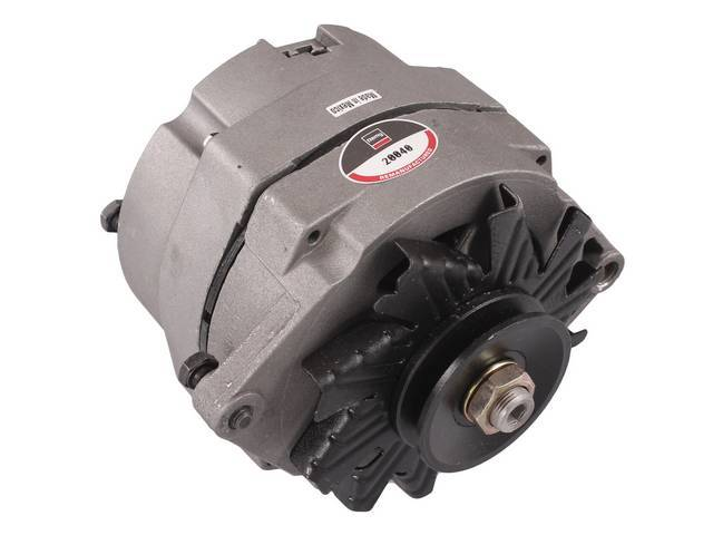 ALTERNATOR, 42 AMP, 5 1/2 inch diameter case,