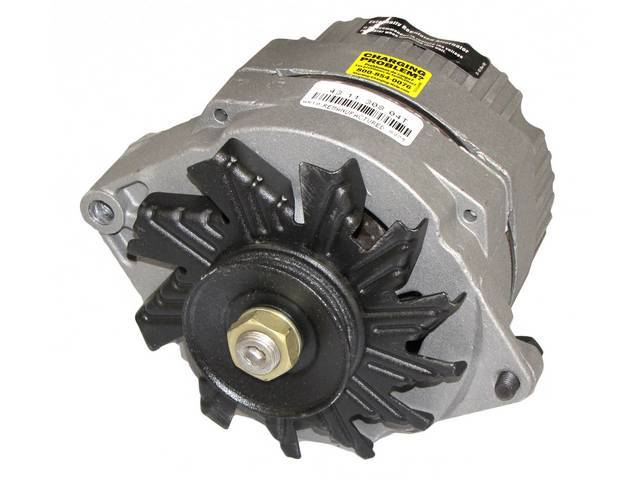 ALTERNATOR, 63 AMP, Rebuilt by Delco Remy (OEM)