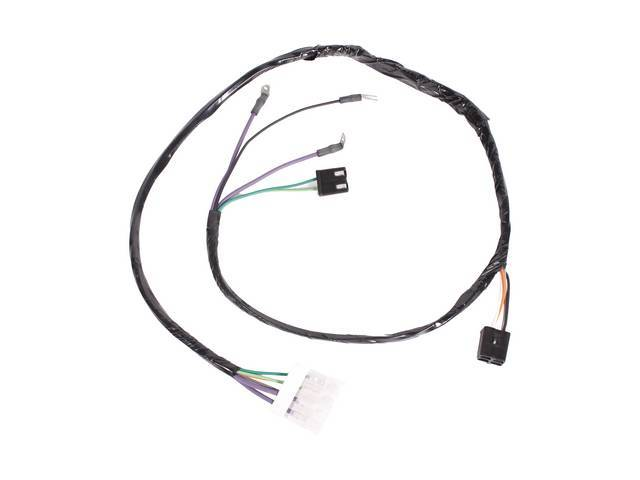 HARNESS, Console Extension, dash to console harness, OE