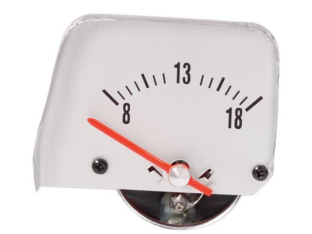 GAUGE, Electric Output / Volts, designed to mimic