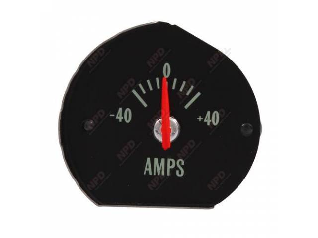Gauge Electric Output / Ammeter W/O Bracket Correct