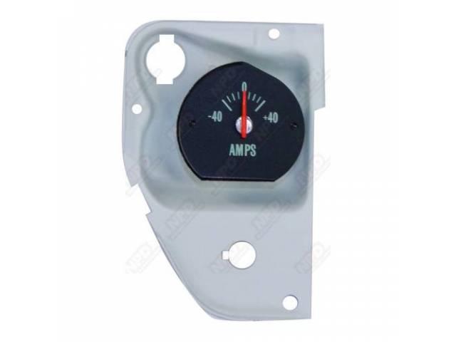 GAUGE, Electric Output / Ammeter, w/ bracket, correct