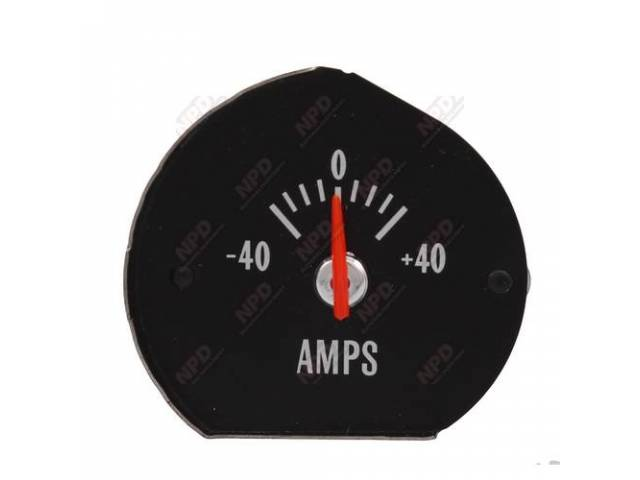 Gauge Electric Output / Ammeter W/O Bracket Correct