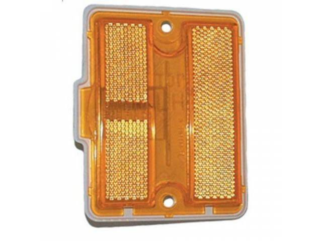 Light Assy Side Marker Front Amber Lens W/