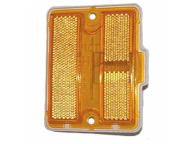 Light Assy Side Marker Front Amber Lens W/
