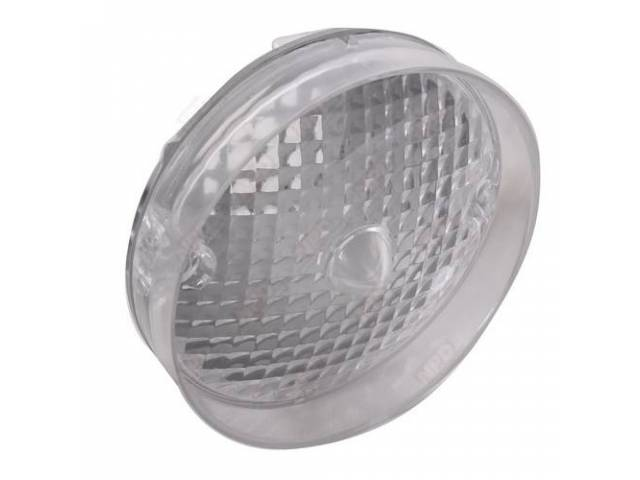 Lens Parking Light Rh Or Lh Clear Repro