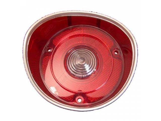 Lens Back Up Light W/O Trim Rh Us-Made