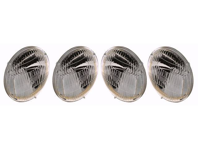 BULB SET, Head Light, Sealed Beam, 12 V