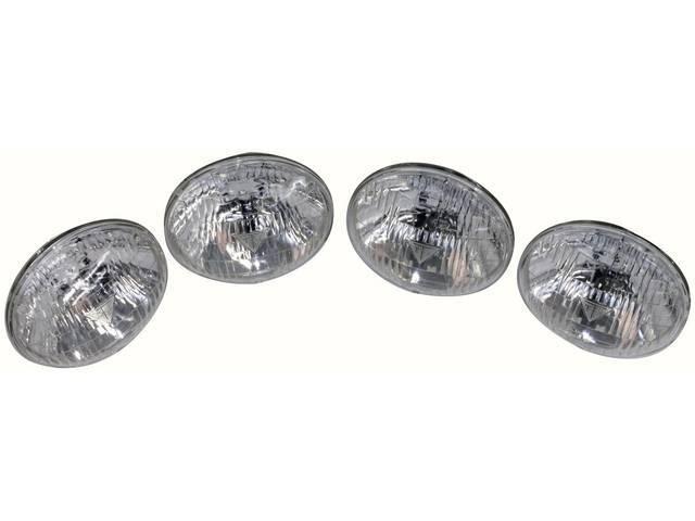 BULB SET, Head Light, Sealed Beam, 12 V