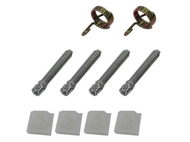 FASTENER KIT, Head Light Adjusters, (10) Incl Screws,