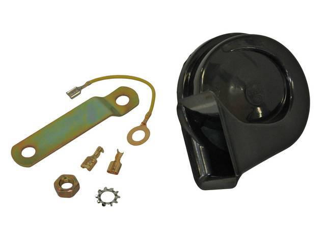 HORN ASSY, Low *A* Note, Plastic, Replacement part by Standard  ** Replaces GM p/n 1892164, 9000011 and 9000514 **