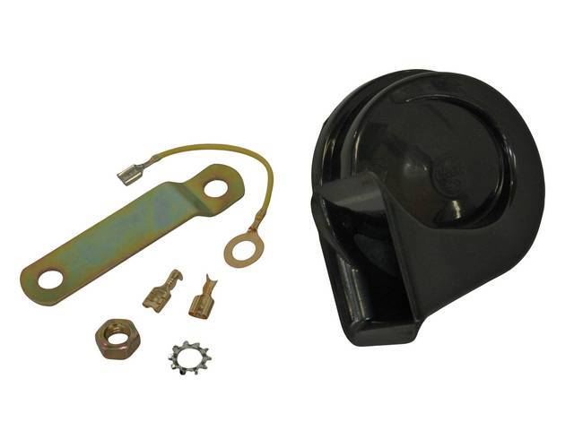 HORN ASSY, Low *F* Note, Plastic, Replacement part by Standard  ** Replaces GM p/n 1892163, 9000513, 9000239, and 9000236 **