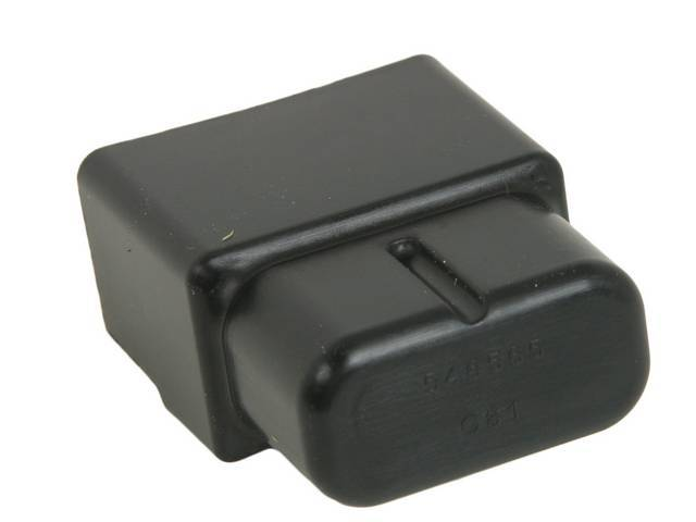 COVER, Horn and Key Alarm Relay, protects the relay and the wiring, plastic, repro