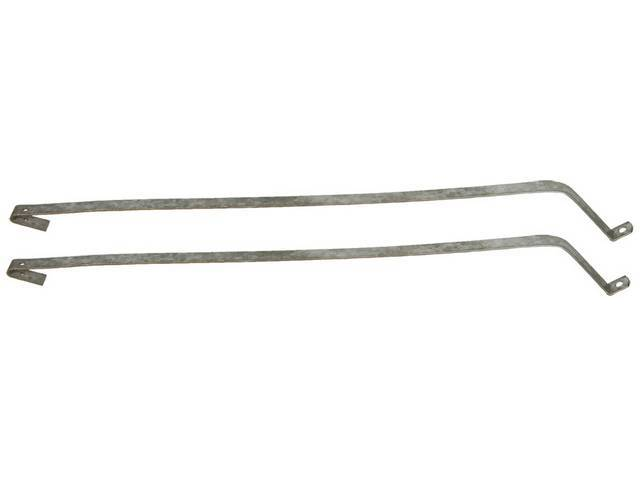 STRAP SET, Fuel Tank, carbon steel, replaces GM p/n 398235 and 401794, US / Canadian made Repro