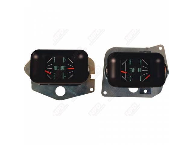 Gauge Conversion Kit Std Style Dash Layout To
