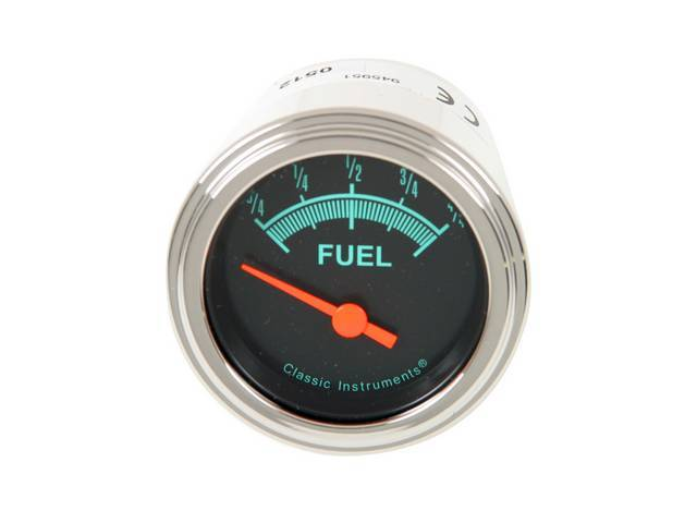 Gauge Fuel Quantity Classic Instruments G-Stock Series Gauge