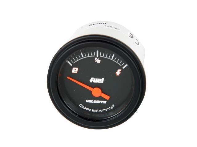 Gauge Fuel Quantity Classic Instruments Velocity Black Series