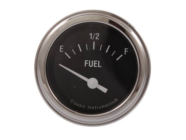 Gauge Fuel Quantity Classic Instruments Hot Rod Series