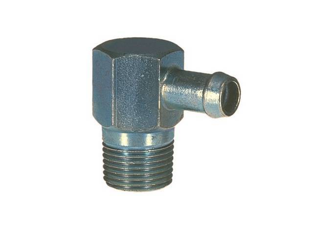 Intake Fitting Power Brake And Vacuum 1-Port Non