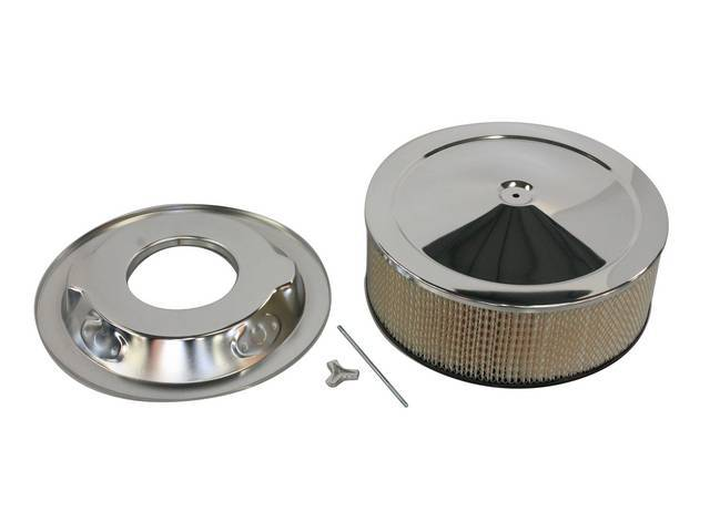 Air Cleaner Assy Chrome 14 Inch O d