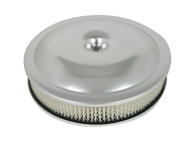 Air Cleaner Assy 14 Inch Performance Shape Anodized