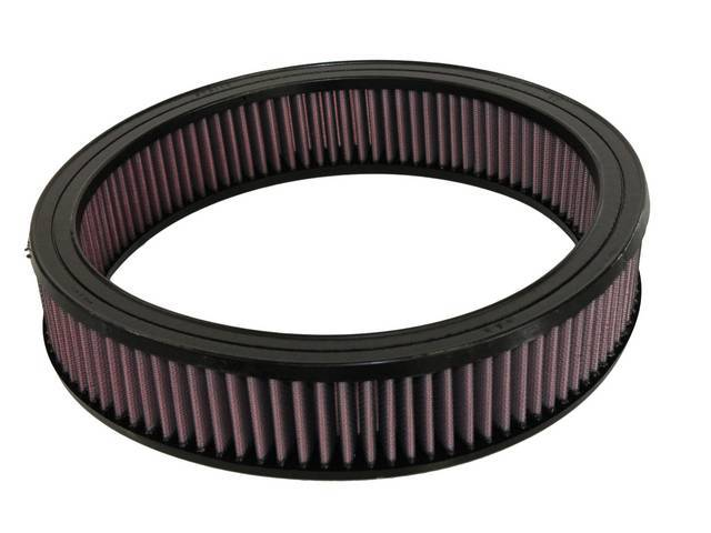 Element Air Cleaner Washable And Re-Usable K And