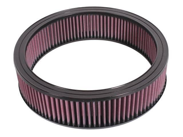 ELEMENT, Air Cleaner, Washable and Re-usable, K and N